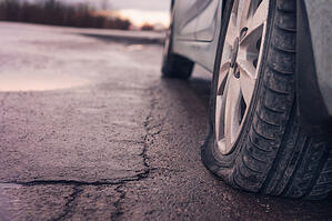 Potholes can quickly cause a lot of damage to your vehicle.