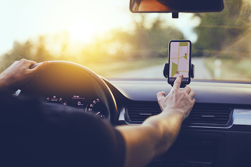 Phone apps can improve your driving experience.