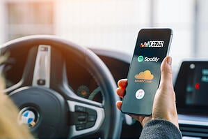 These apps will keep you entertained on the road.