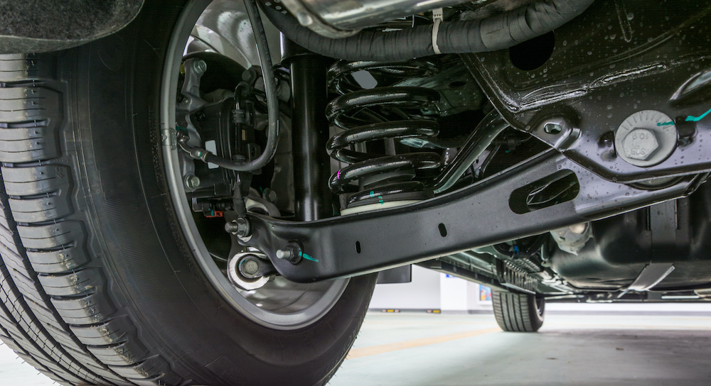 Take care of your steering and suspension system.