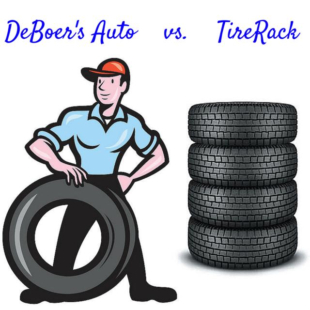 DEBOER'S AUTO VS  TIRE RACK