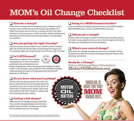 MOM-Checklist