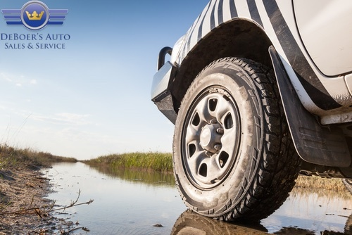 Choosing the right tire improves the ride and handling or you car.