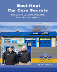 Best kept car care secrets cover