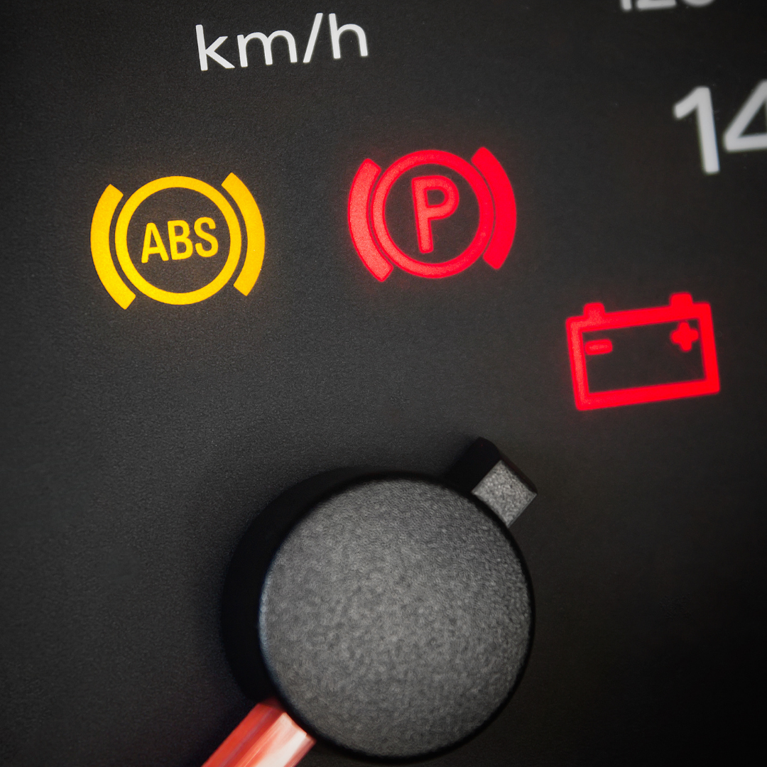 ABS light in dashboard