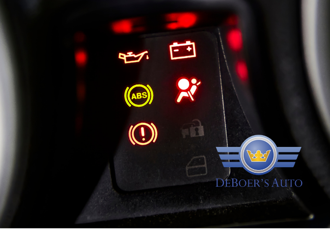 dashboard warning lights