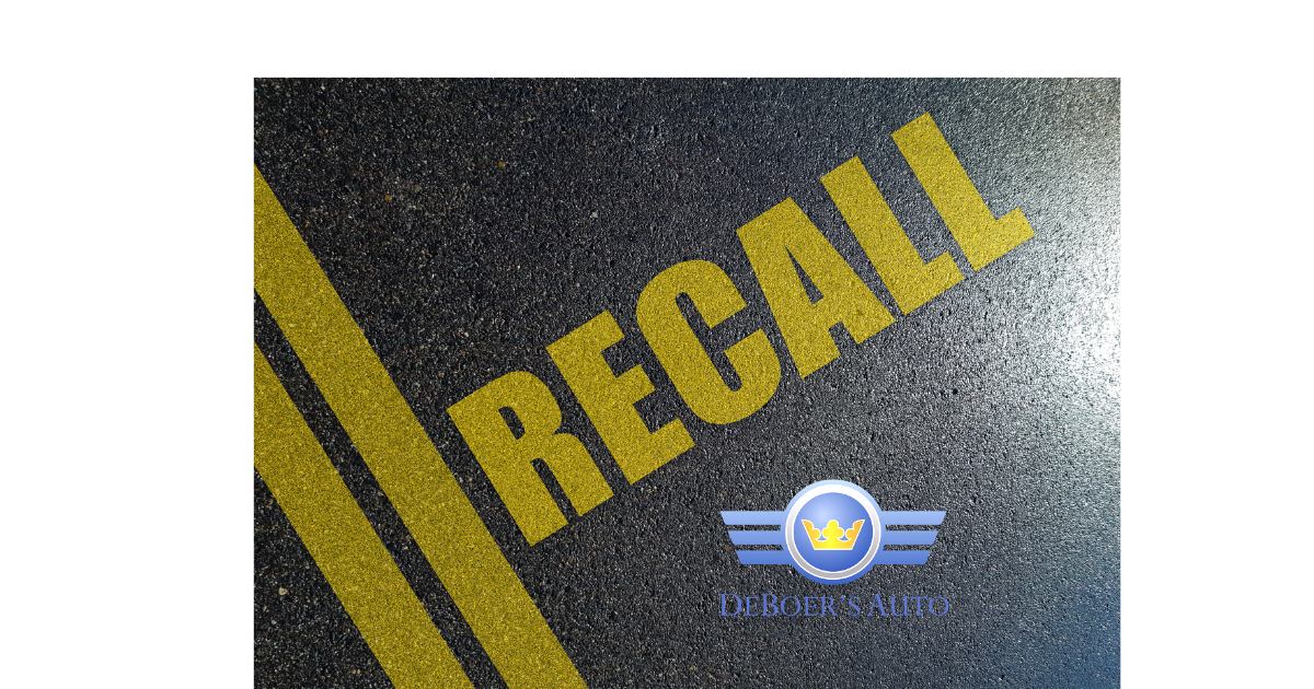 recall painted on pavement