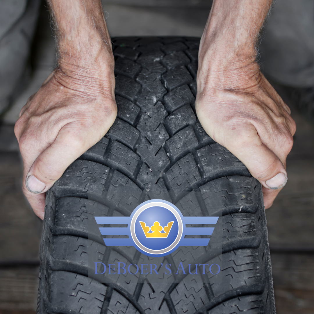 tire with hands